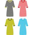 Set of Dresses vector image