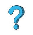 question mark ask icon graphic vector image