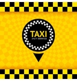 Taxi symbol new background 10eps vector image