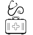Medicine concept vector image vector image