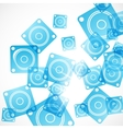 abstract background dynamic vector image