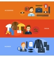 Clothes Banner Set vector image