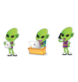 Alien 3 vector image