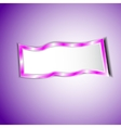 graphic purple background for text and message vector image