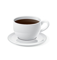 Coffee and Coffee Cup Icon vector image