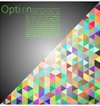 Grey Abstract Geometrical Background vector image