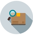 Find Package vector image