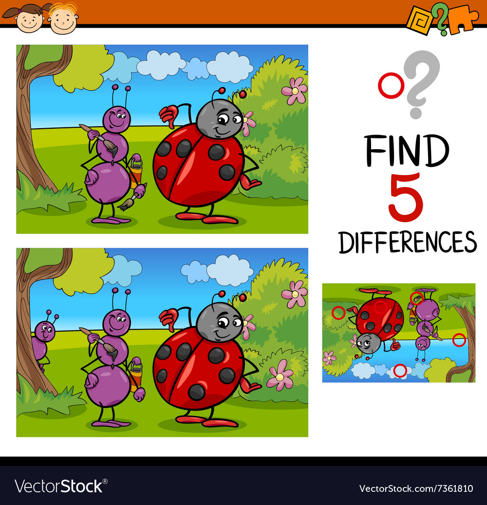 Preschool differences task vector