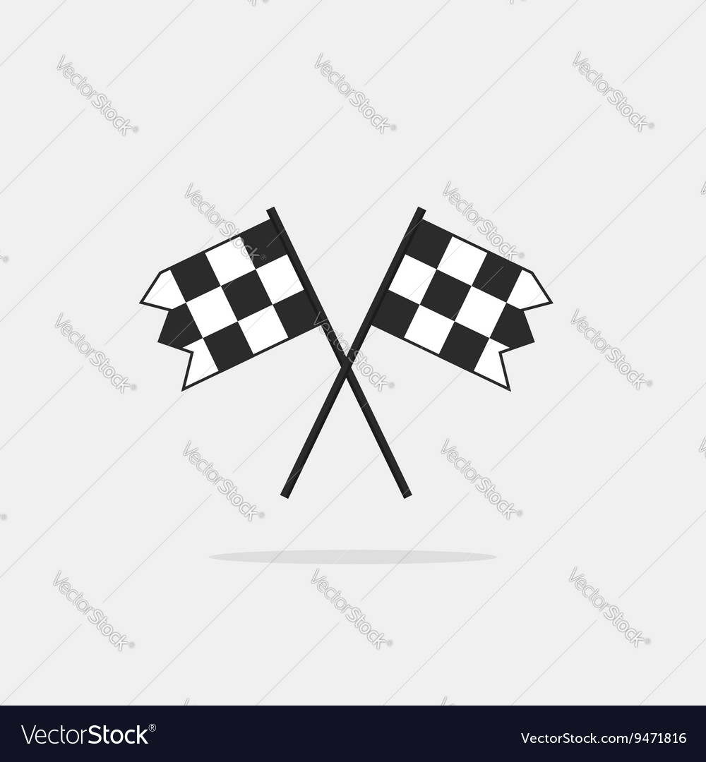 Finish flags icon isolated on white vector