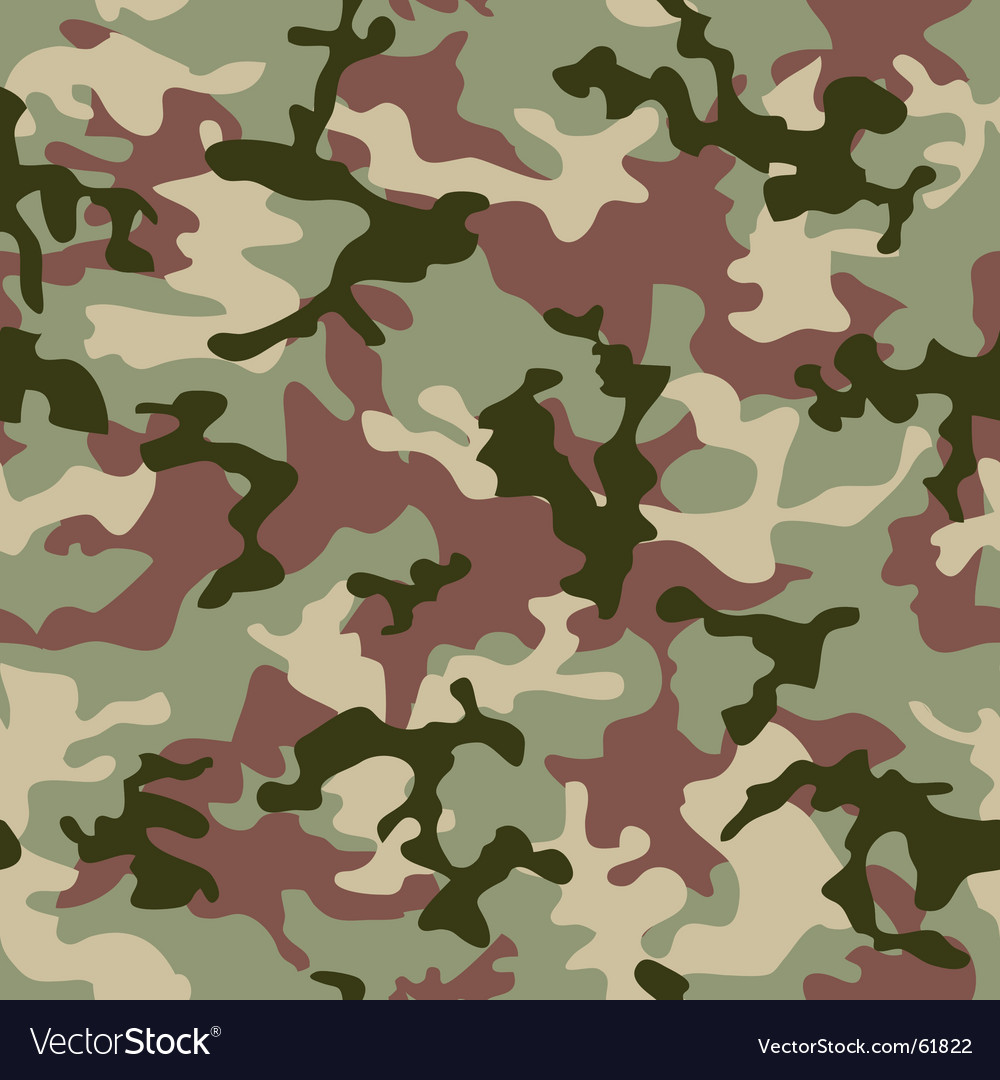 Camouflage jungle vector