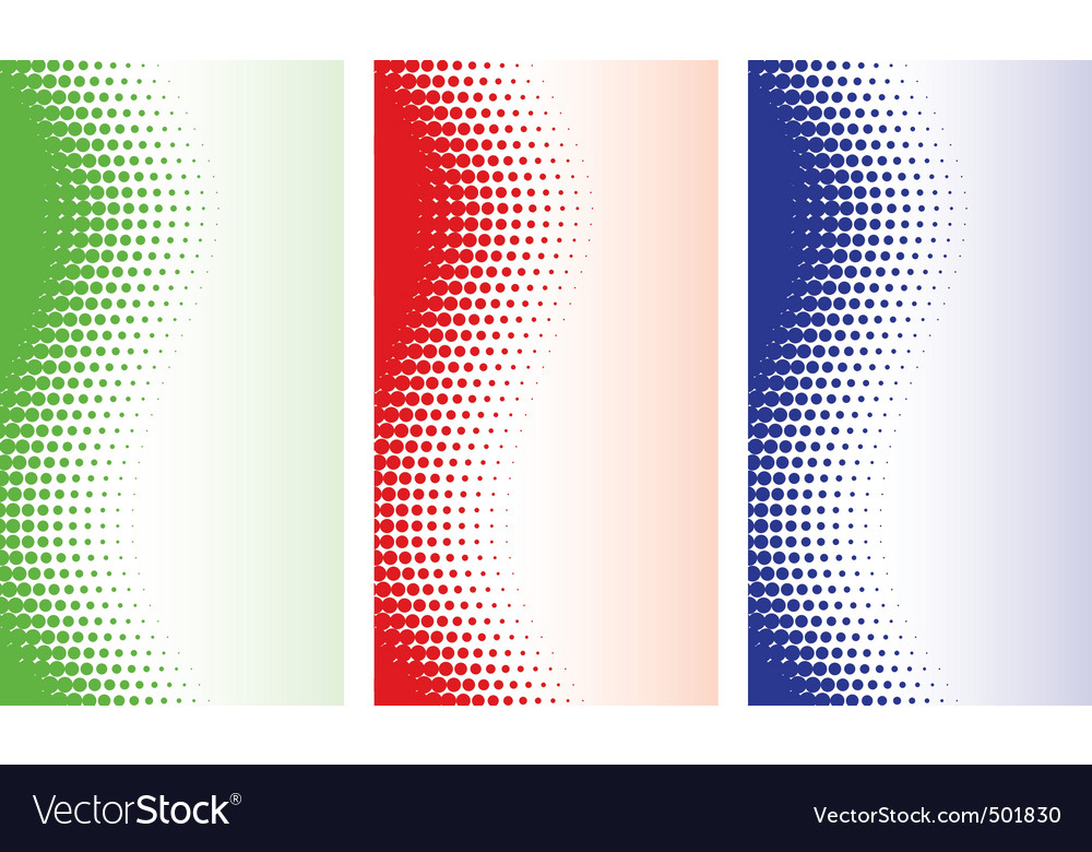 Abstract halftone backgrounds vector