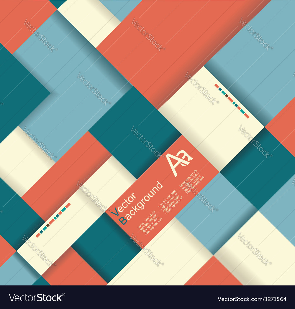 Shape background vector