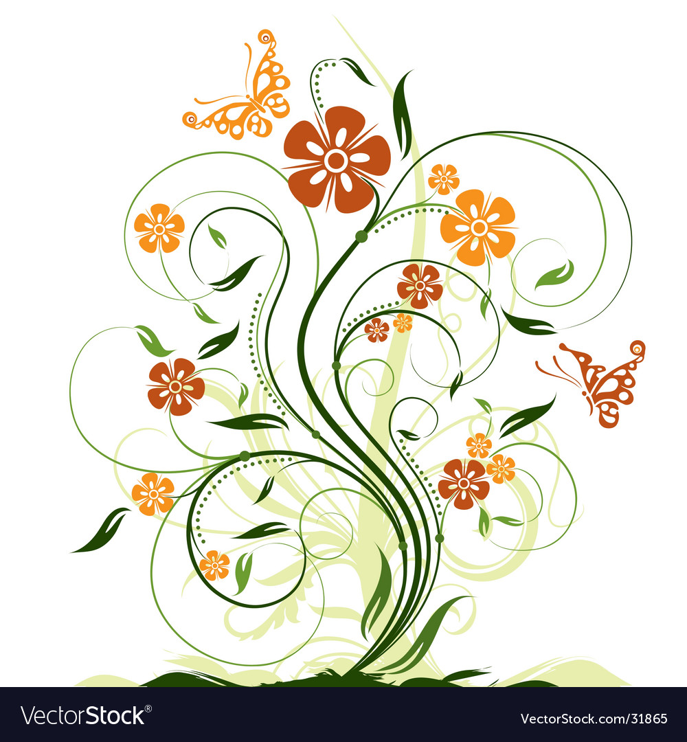 Decorative graphic vector