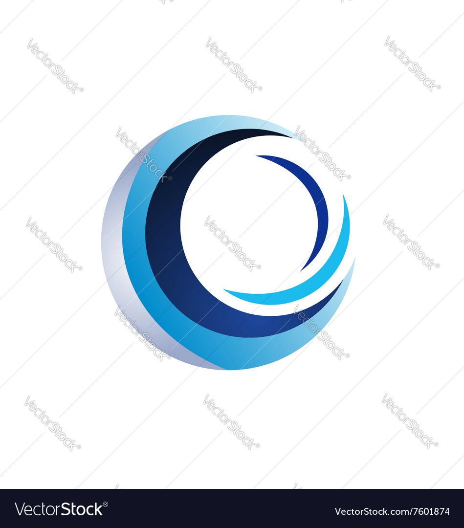 Circle elements logo sphere symbol icon design vector