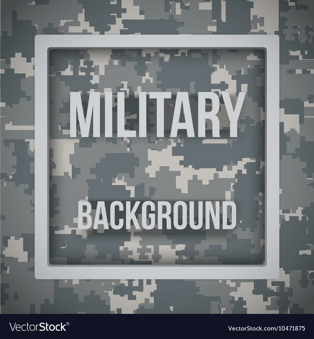 Military modern pixel camo background vector