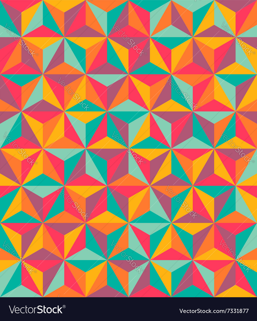 6point star pattern vector