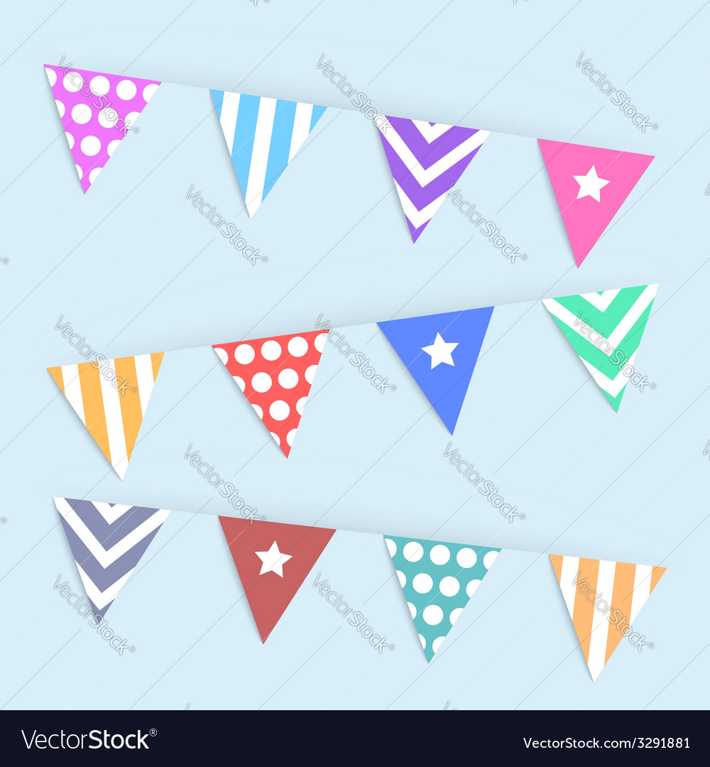 Variety flag abstract background vector