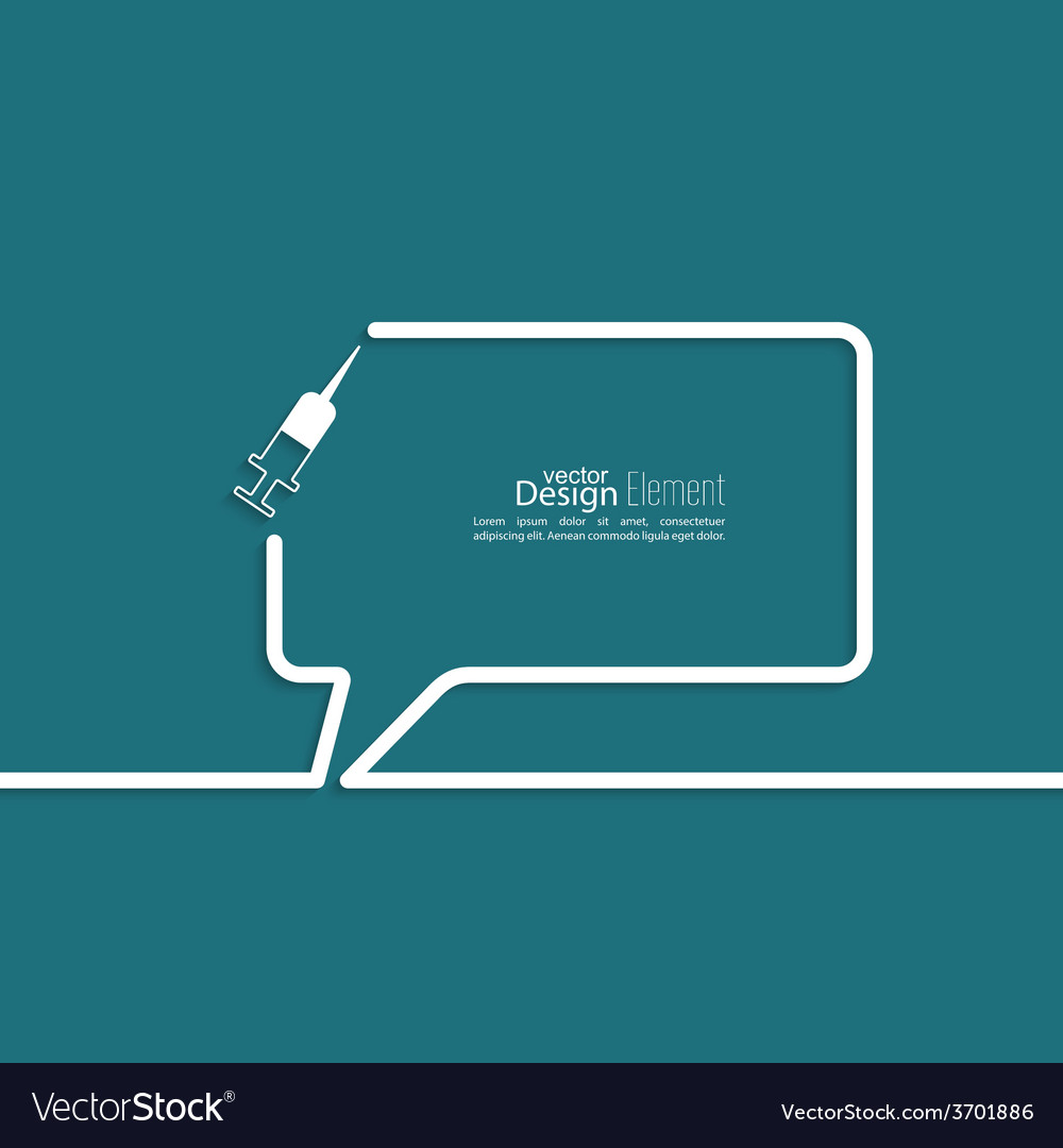 Abstract background with speech bubbles vector