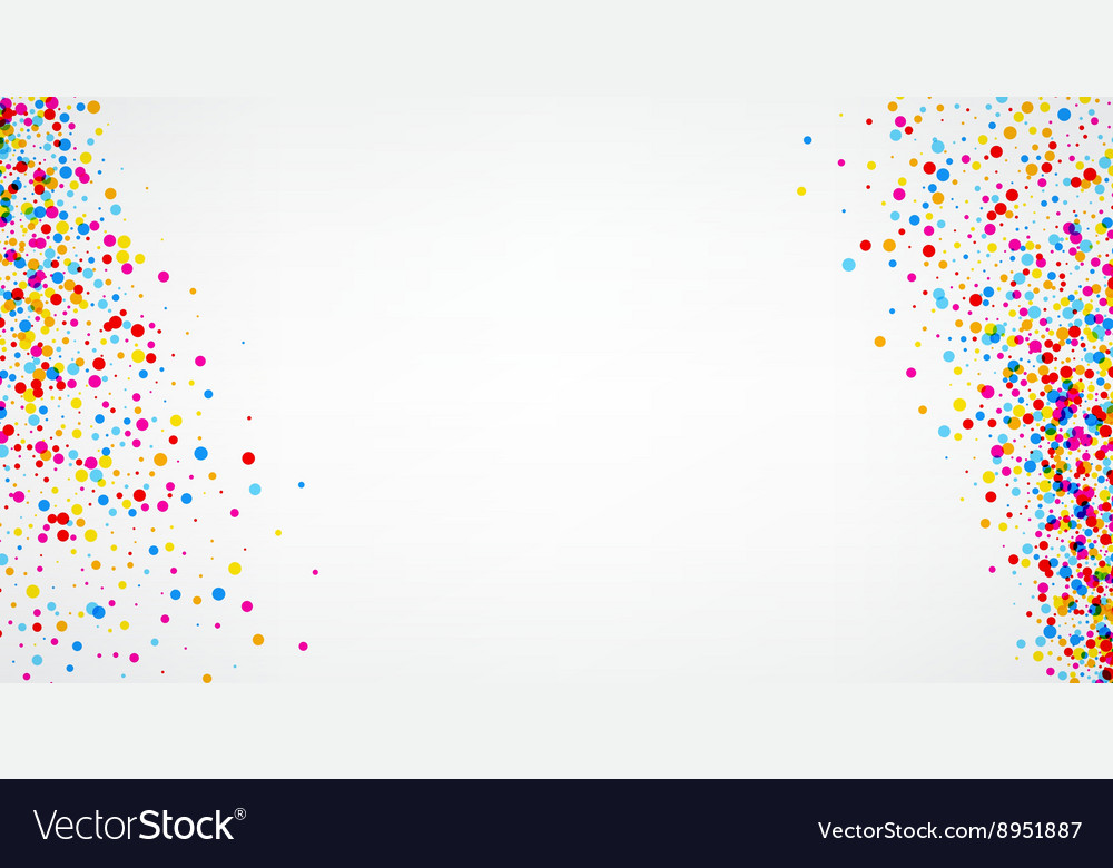Background with color drops vector