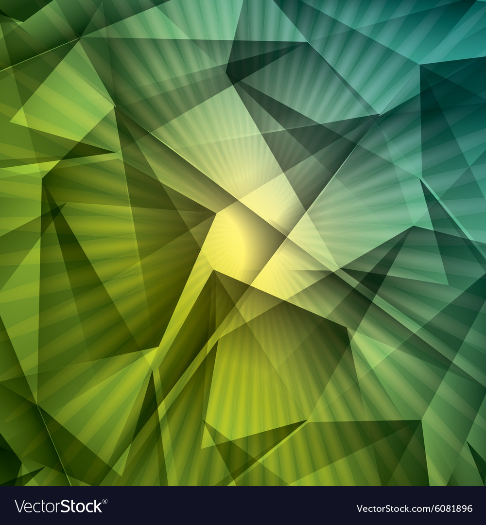 Green background style design vector