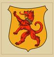 Heraldic beast vector image