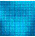 Blue abstract background with tiny squares vector image
