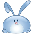 bunny cartoon icon vector image