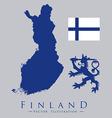 finland design vector image