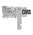 where can i buy cars for as little as text word vector image