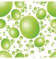 green peas seamless pattern vector image
