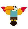 toucan design vector image
