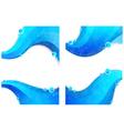 Water elements vector image