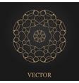 Logo design template creative monogram abstract vector image