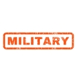 Military Rubber Stamp vector image