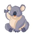 Cartoon smiling Koala vector image