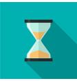 hourglass icon 10 eps vector image