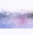 pink grey geometric background with lights vector image