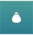bag flour icon vector image