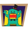 Green Monster vector image