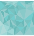 Pastel triangle blue background or mint pattern vector image vector image