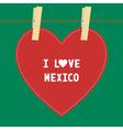 I lOVE MEXICO5 vector image