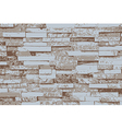 Background of brick wall vector image vector image