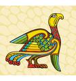 Motley Bird vector image vector image