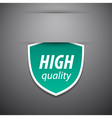 High quality tag vector image