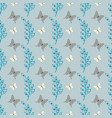 lovely cute butterfly seamless pattern vector image