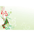 christmas ornamental picture vector image