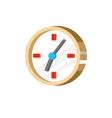 Clock icon vector image