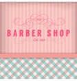Vintage Barber Shop Badg vector image
