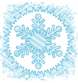 retro snow vector image
