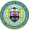 San Diego City Seal vector image